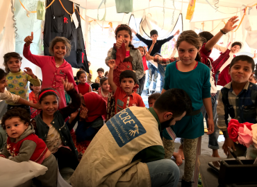 Refugee Children in Jordan Get Orthopedic Shoes