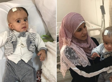 Syrian Refugee Sponsored for Surgery in Jordan