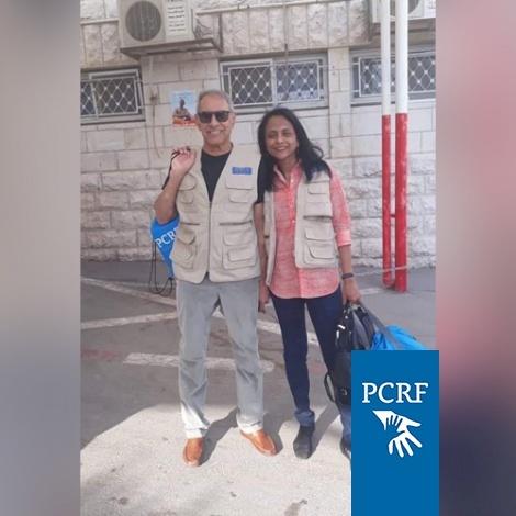Australian Couple Return to Nablus