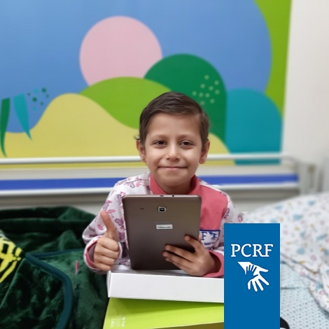"8-year-old Mais gets an iPad through ""Make a Wish"" Project"