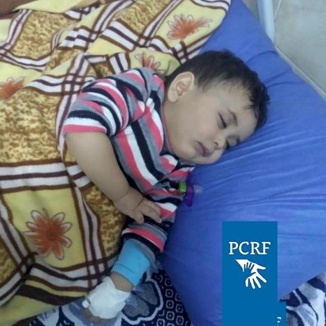 Bethlehem Boy Sent to Jordan for Eye Surgery