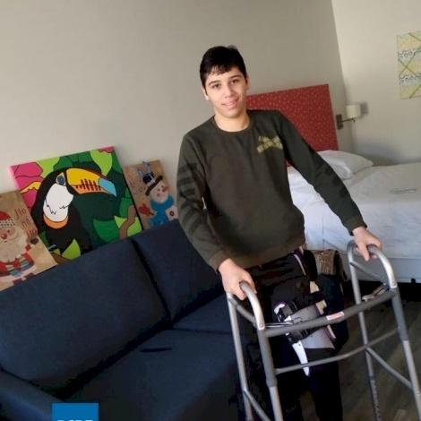 Hebron Boy Recovering in Dallas