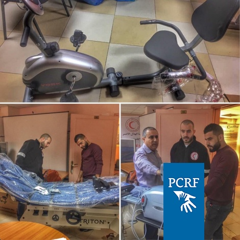 PCRF Supports PRCS in Jericho to Help Refugees