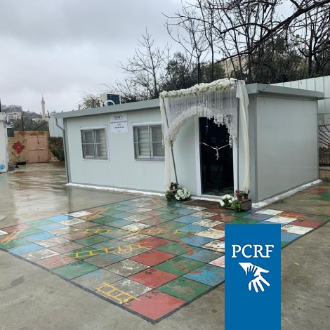 PCRF Supports Caravan for Special Needs Students in Hebron's Old City