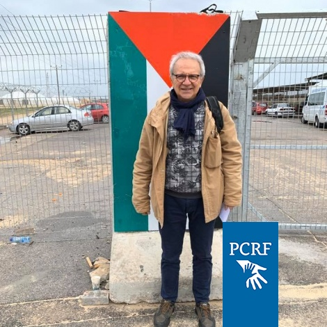 Prof. Angelo Stefanini Returns to Gaza