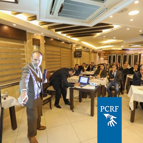 PCRF Continues Developing Cancer Care in Gaza