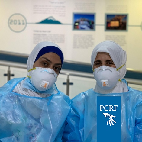 N95 Masks Sent to Staff At Huda Al-Masri Department to Help Protect Patients