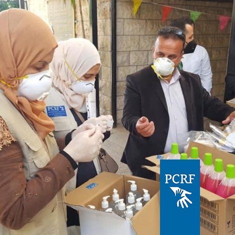 Humanitarian Distribution for At-Risk Persons In Jenin