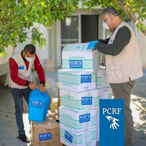 PCRF Supplies Gaza ICU with Urgent Supplies