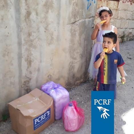 Humanitarian Distribution in Jenin Area