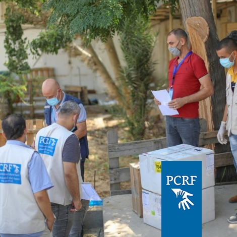 PCRF Delivers Urgent Medical Equipment to Gaza