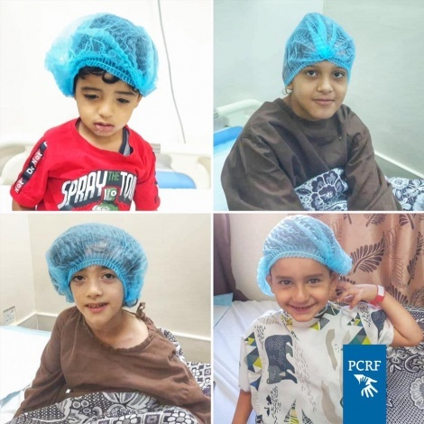 Four Children Sponsored for Surgery in Jordan