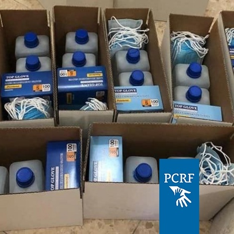 Humanitarian Kits Distributed in Nablus Area