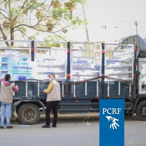 PCRF and IMANA Work to Send Shipment to Gaza