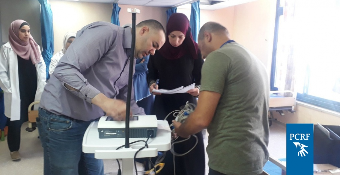 PCRF Supports Thalassemia patients in West Bank