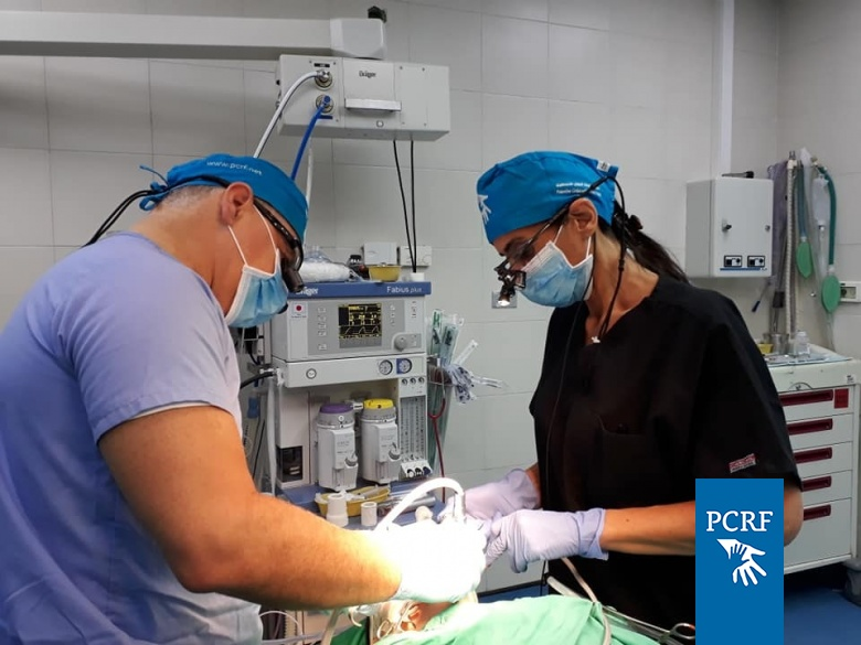 Dental Surgery Team Operates on Children in Bethlehem