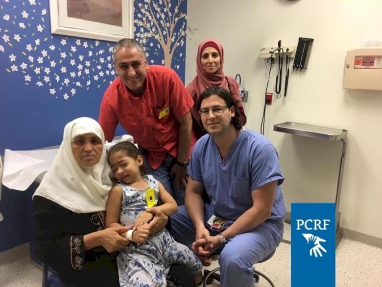 Palestinian Girl Has Surgery in Boston