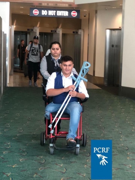 Injured Gaza Boy Returns To Portland