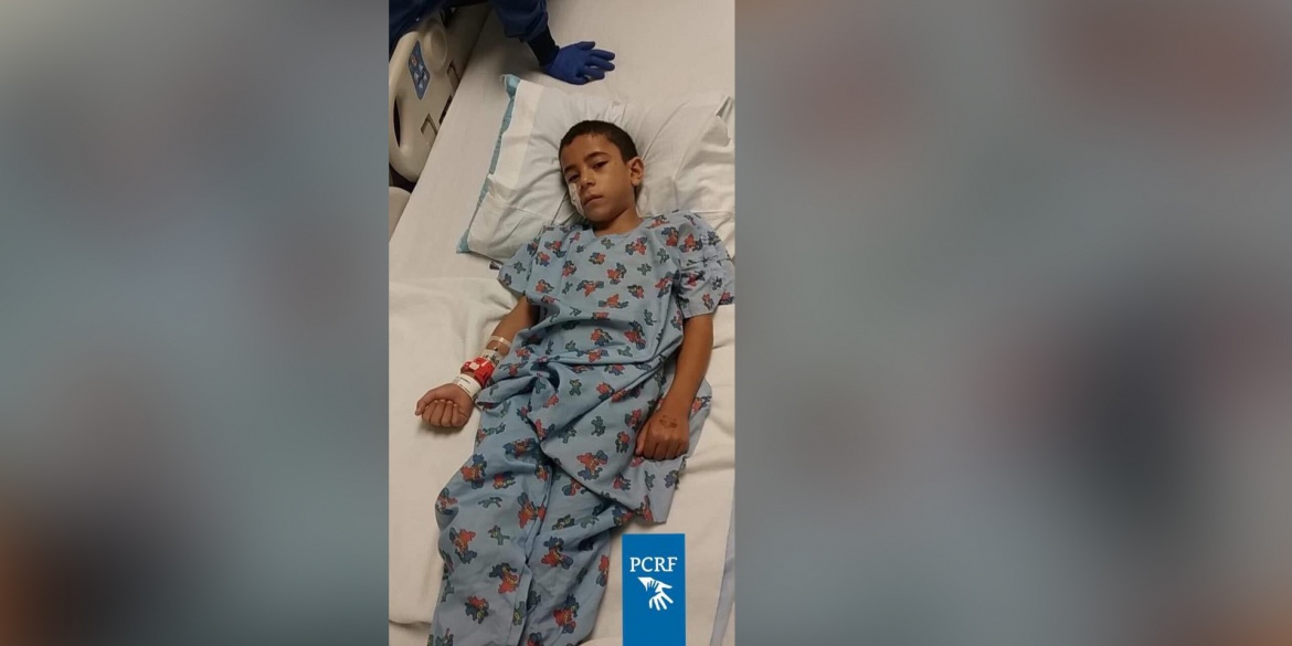 Gaza Boy Undergoes Surgery in Baltimore
