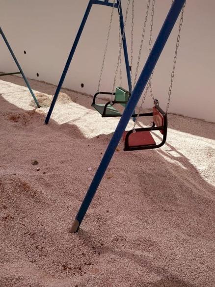 PCRF Rehabilitates Special-Needs Playground in Jenin