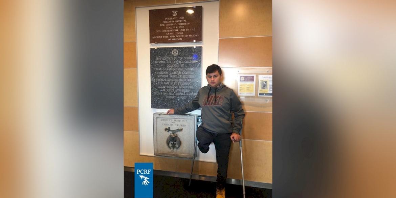 Injured Gaza Boy Returns to Portland for Surgery
