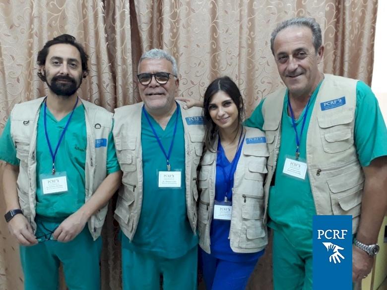 Italian Volunteer Surgery Team Returns to Jenin