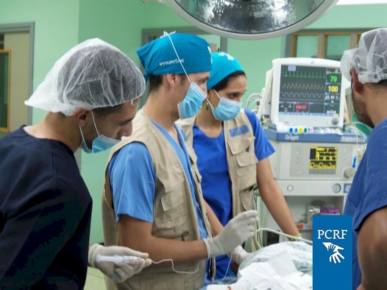 Spanish Orthopedic Surgery Team Operate in Gaza