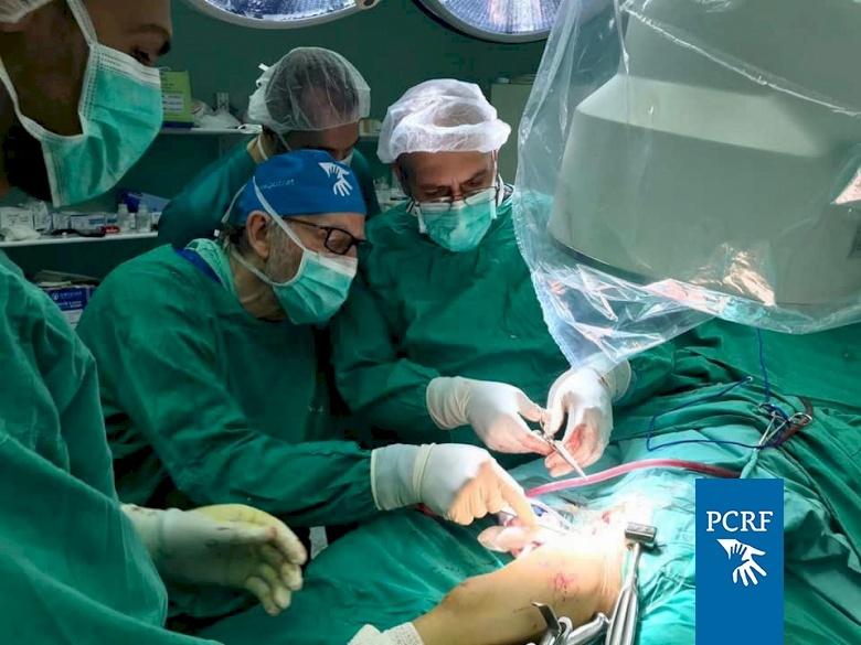 American Soone Surgeon Returns to Palestine