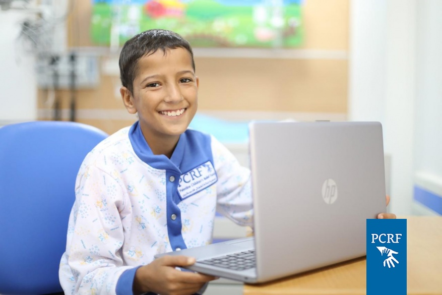 """Make a Wish"" provides Mohammed a Computer"
