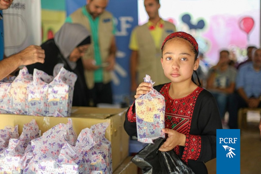 PCRF Distributed Diabetes Kits In North Gaza