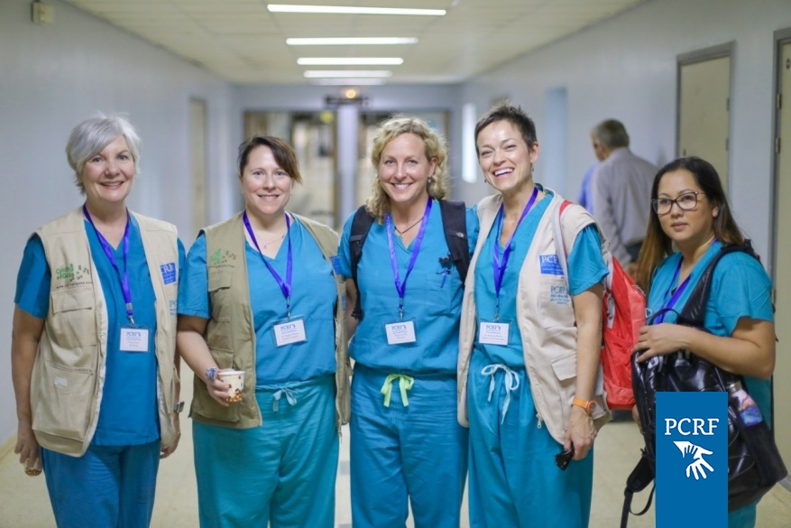 American Pediatric Surgery Team Returns to Gaza