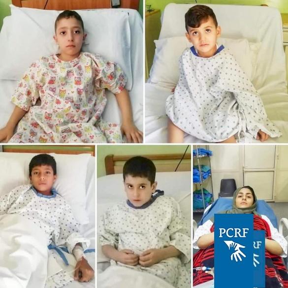 Five Refugee Children Soonsored for Surgery I'm Lebanon