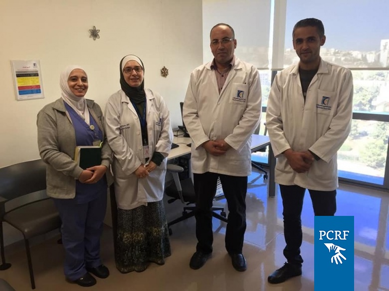 Gaza Doctor Completes One Month Palliative Training in Jordan