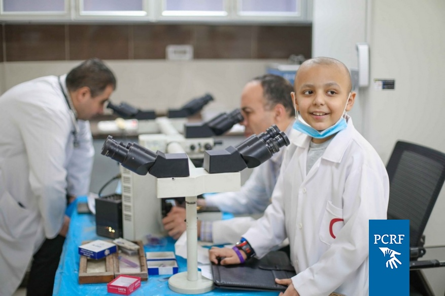 """""""Make a Wish"""" Program helps Moayad to become a doctor"""