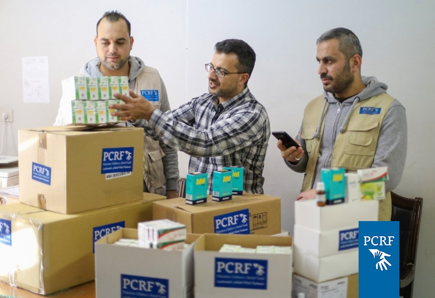 PCRF Provides Chronically Ill Children Drugs for Cystic FIbrosis in Gaza