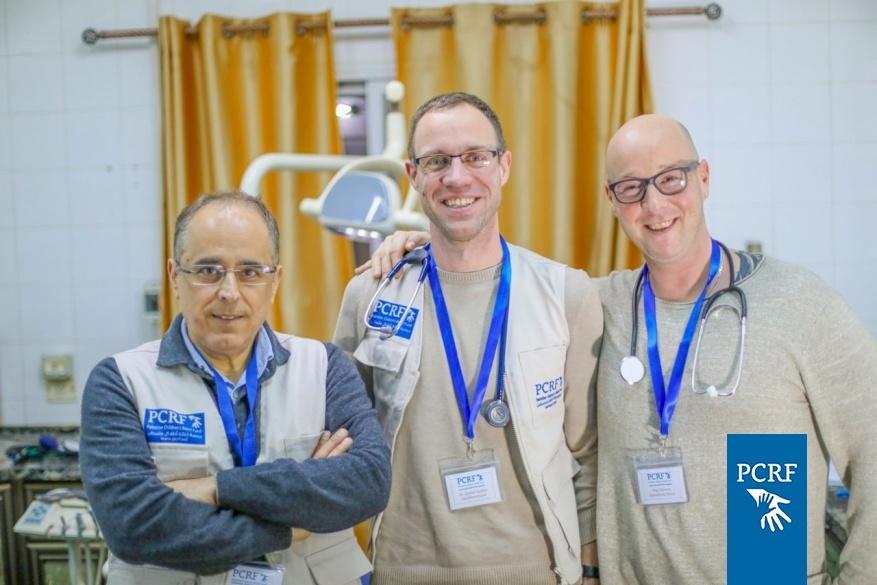 German Maxillofacial Mission Returns to Gaza