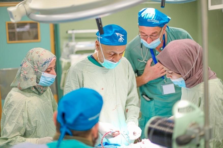 German Plastic Surgery Team Volunteers in Gaza