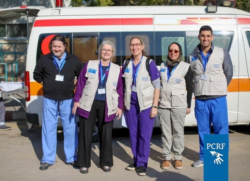 Pediatric Neurosurgery Team Returns to Gaza