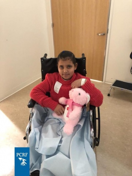 Gaza Girl Returns To LA for Treatment
