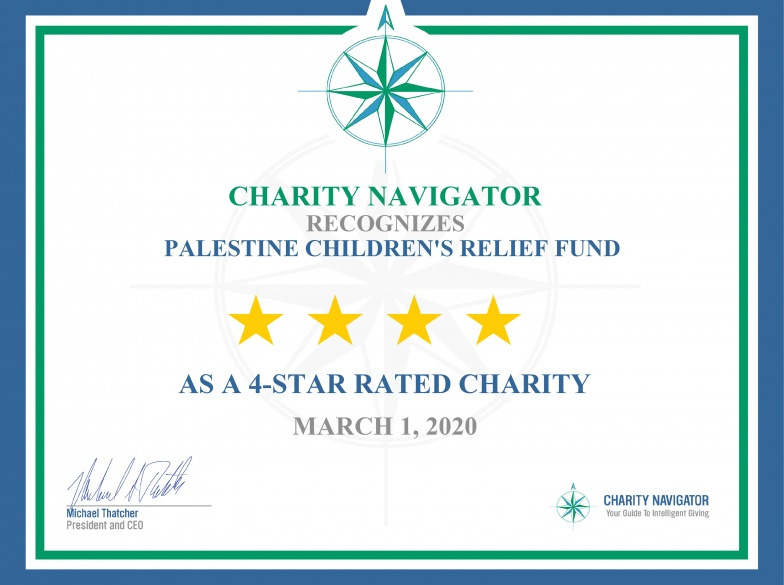 PCRF Receives its 9th 4-Star Rating from Charity Navigator