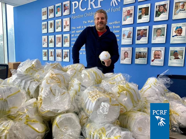 Masks Donated for Pediatric Cancer Departments in Palestine
