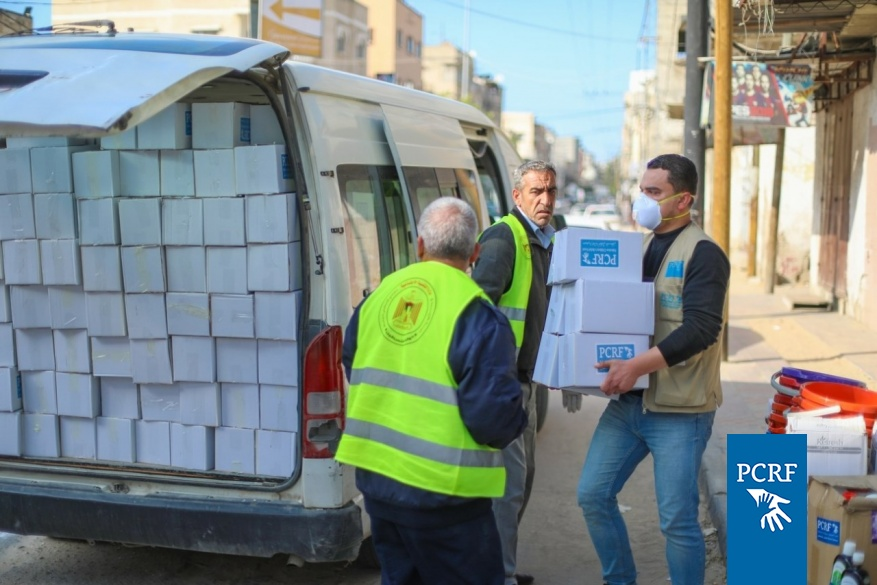 New Infection Control Supplies Provided to Centers in Gaza