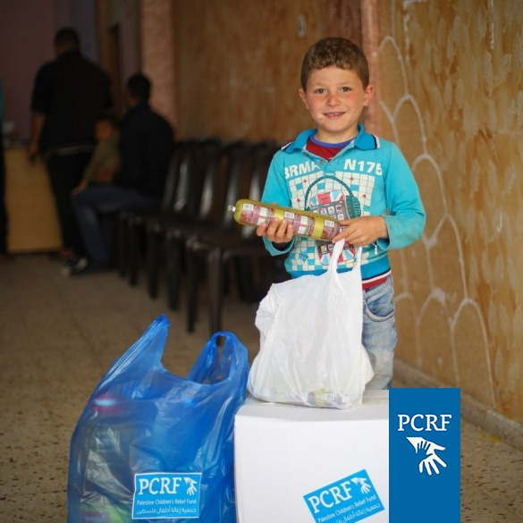 Food Distribution for Hundreds of Families in Central Gaza