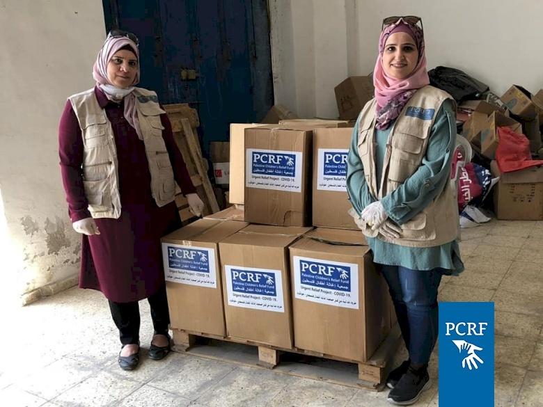 Food Distribution for Hundreds of Families in Tulkarem