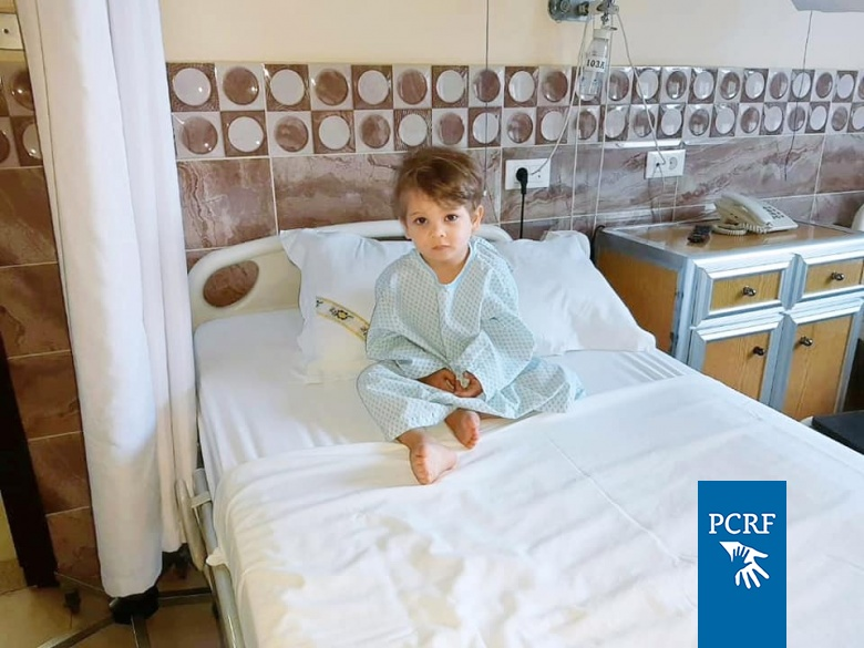 Syrian Child Sponsored for Surgery in Lebanon