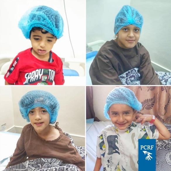 Four Children Sponsored for Surgery in Jordan