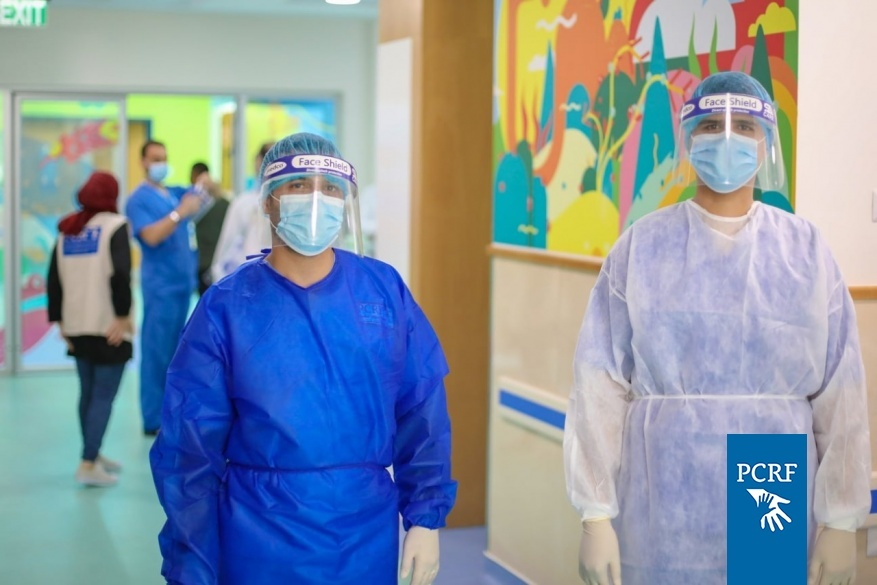 PCRF Works with AFOPA to Provide PPE for our Pediatric Cancer Department