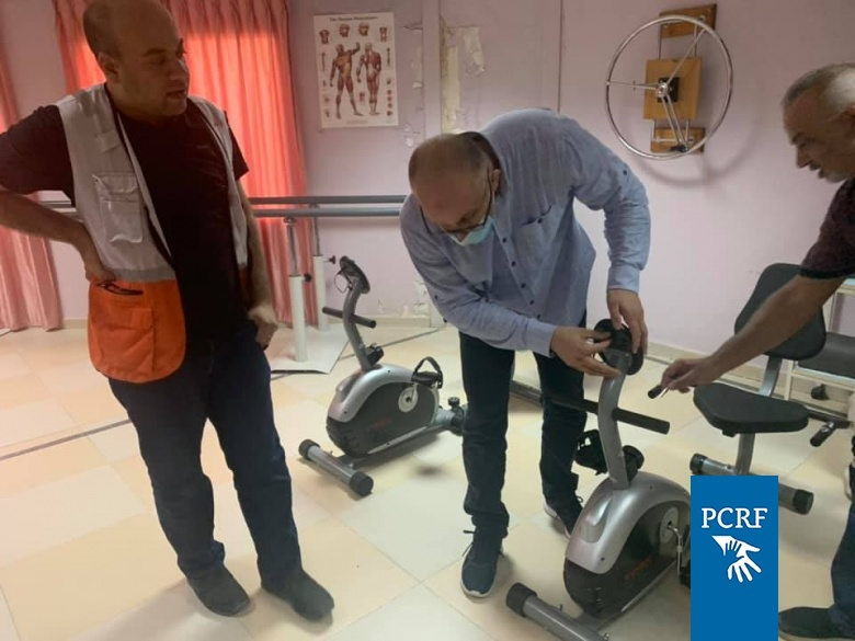 PCRF Supports PRCS Clinic in Jericho