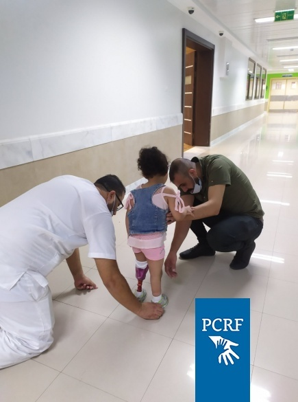 3-year-old Tala Gets Treatment in Gaza