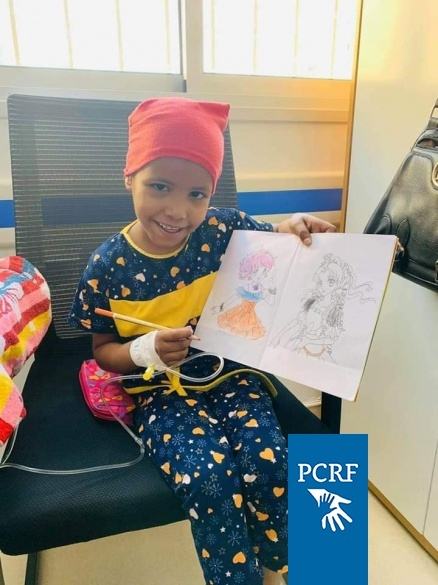 Cancer Children Get Therapy Through PCRF Team